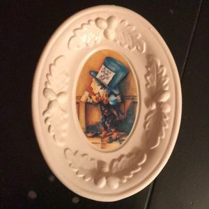Alice in Wonderland Mad Hatter soap trinket dish